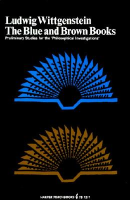 Blue and Brown Books By Wittgenstein, Ludwig